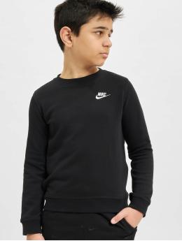 Nike Пуловер Crew Club FT LBR черный
