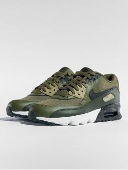 Nike Сникеры Air Max 90 Mesh (GS) оливковый