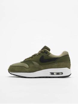 Nike Сникеры Air Max 1 оливковый
