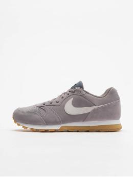 Nike Сникеры Mid Runner 2 Suede серый