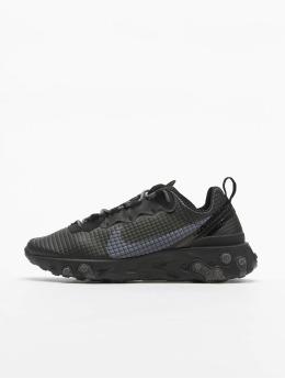 Nike Сникеры React Element 55 Premium  черный