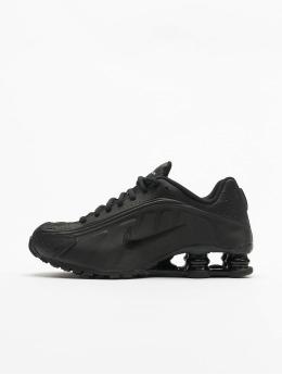 Nike Сникеры Shox R4 (GS)  черный