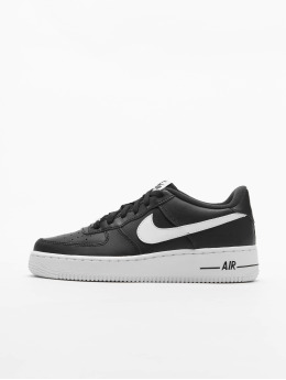 Nike Сникеры Air Force 1 AN20 (GS) черный