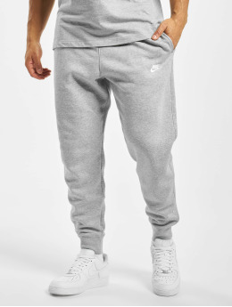 Nike Спортивные брюки Club Sweat серый