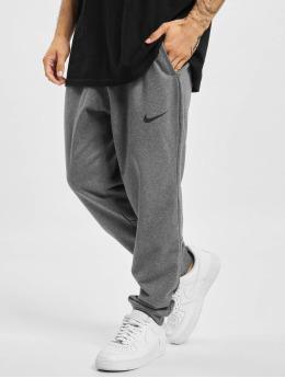 Nike Спортивные брюки DF Taper FL серый