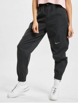 Nike Спортивные брюки Sportswear Swoosh черный