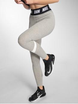 Nike Спортивные колготки Club серый