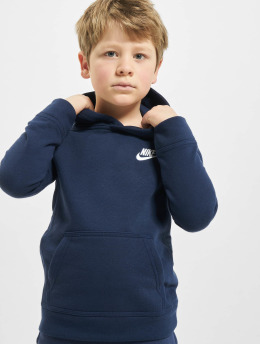 Nike Толстовка Club Fleece синий
