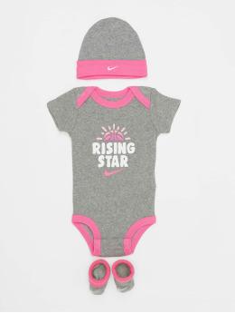 Nike корсаж Nhn Rising Star серый