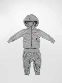 Nike Anzug Velour  grau