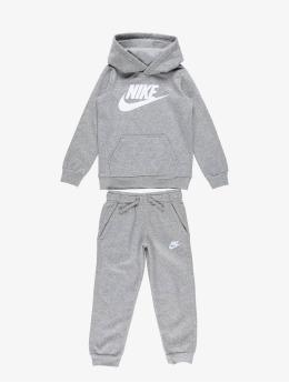 Nike Anzug NKB Club Fleece grau