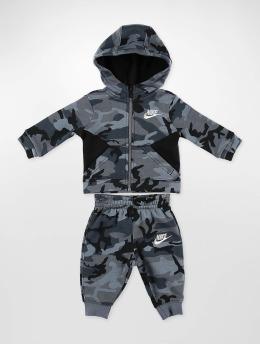 Nike Anzug Club schwarz