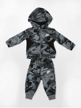 Nike Anzug Club Fleece schwarz