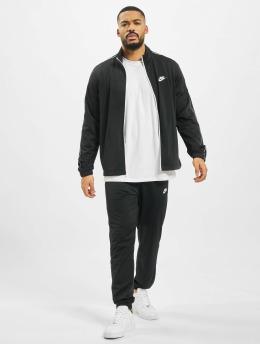 Nike Anzug Basic  schwarz