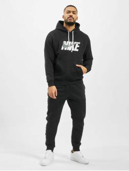 Nike Anzug Fleece  schwarz