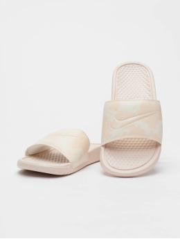 Nike Badesko/sandaler Benassi JDI Print beige