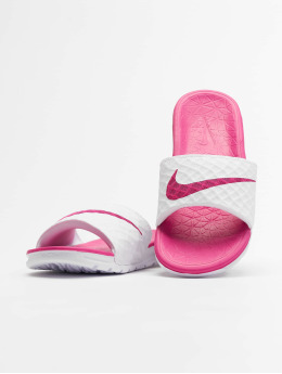 Nike Badesko/sandaler Benassi Solarsoft hvit