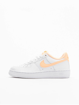 Nike Baskets Force 1 (PS) blanc