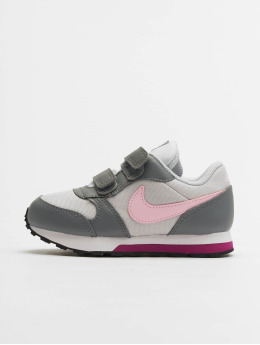Nike Baskets Mid Runner 2 (TDV) gris