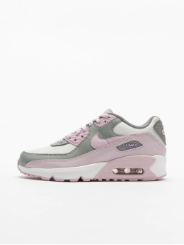 Nike Baskets Air Max 90 Ltr (GS) gris