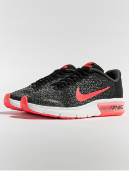 Nike Baskets Air Max Sequent 2 (GS) Running noir