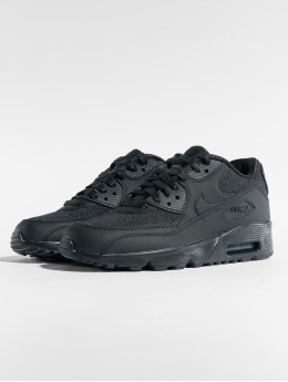 Nike Baskets Air Max 90 SE Mesh (GS) noir