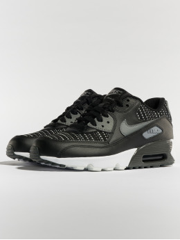 Nike Baskets Air Max 90 Mesh SE (GS) noir
