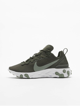 Nike Baskets React Element 55 olive