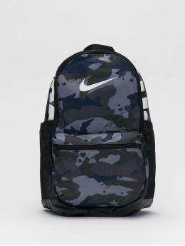 Nike Batohy Brasilia M AOP šedá