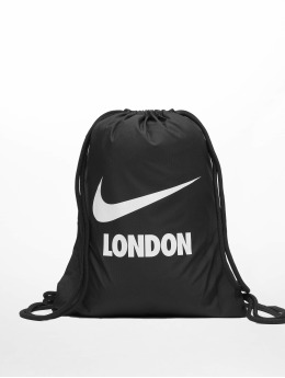 Nike Beutel Heritage City Swoosh čern