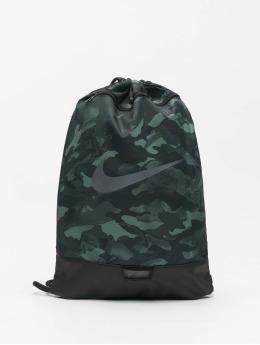Nike Beutel Brasilia 9.0 AOP 2 grau