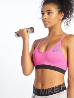 Nike Biustonosz sportowy Indy fioletowy