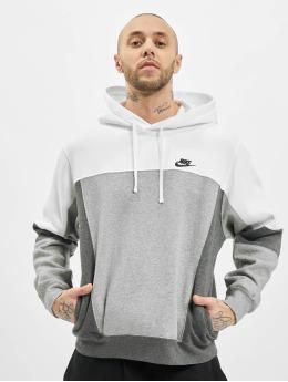 Nike Bluzy z kapturem M Nsw Po Bb Snl Cb bialy