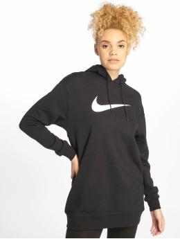 Nike Bluzy z kapturem Sportswear czarny
