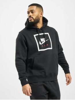 Nike Bluzy z kapturem Air 5 czarny