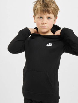 Nike Bluzy z kapturem Club Fleece czarny