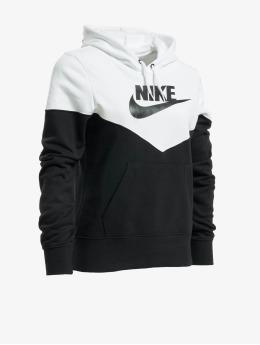 Nike Bluzy z kapturem Heritage  czarny