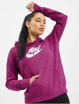 Nike Bluzy z kapturem Essential  fioletowy