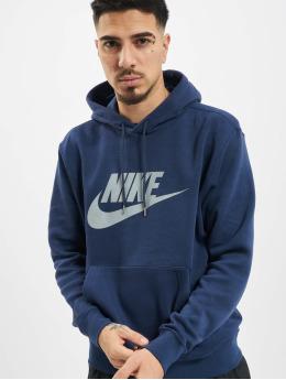 Nike Bluzy z kapturem Nsw niebieski