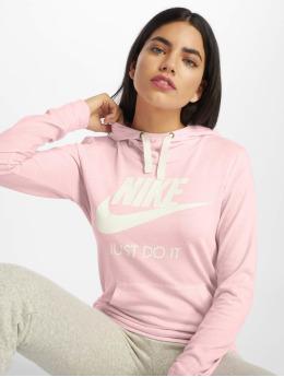 Nike Bluzy z kapturem Sportswear Gym Vintage pink