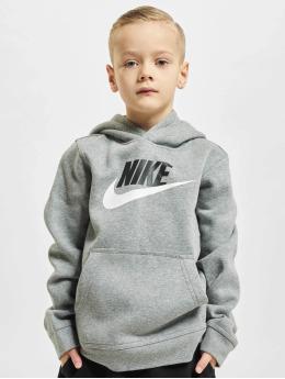 Nike Bluzy z kapturem HBR PO szary