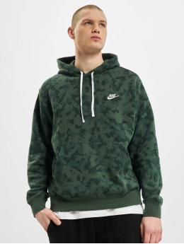 Nike Bluzy z kapturem M Nsw Club Bb zielony