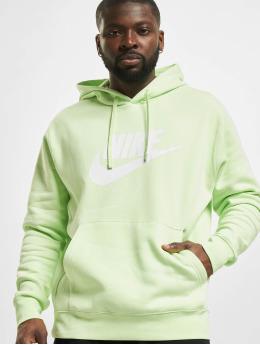 Nike Bluzy z kapturem Sportswear Club BB GX zielony