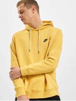 Nike Bluzy z kapturem Revival  zólty