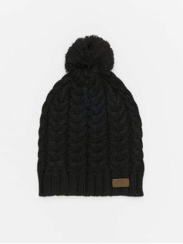 Nike Bonnet hiver Knit Pom noir