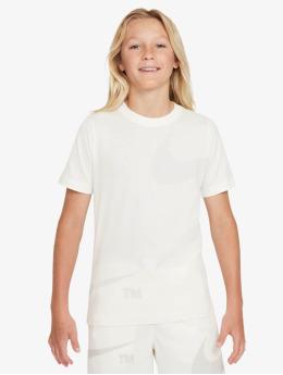 Nike Camiseta Swoosh blanco