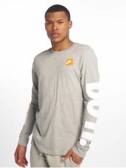 Nike Camiseta de manga larga Sportswear gris