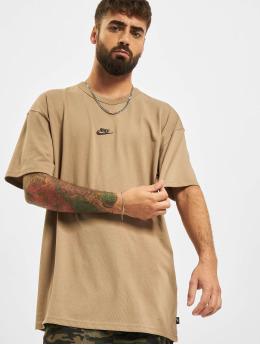 Nike Camiseta Premium Essential marrón