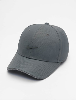Nike Casquette Snapback & Strapback U Nsw Clc99 Swoosh gris