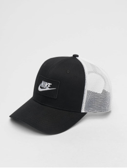 4017cd1cd6 Nike Casquette Snapback & Strapback. Sportswear Futura Pro blanc · Nike  Casquette Trucker mesh CLC99 noir